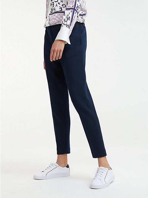 21ec87b2bb614 Women's Trousers | Ladies' Summer Trousers | Tommy Hilfiger® UK