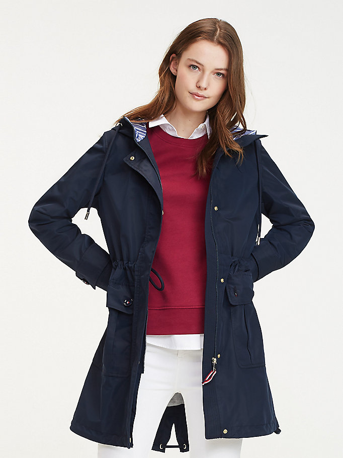 Sustainable Hooded Parka Jacket by Tommy Hilfiger