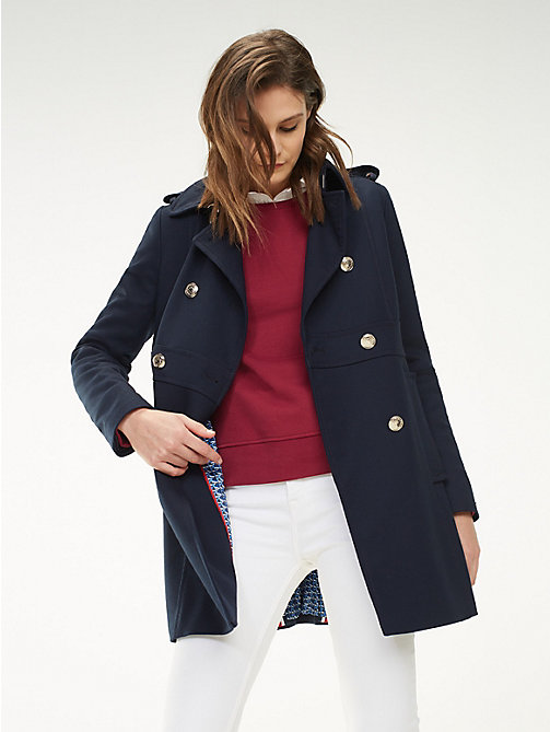 Winterjas Kort Dames.Jassen Jacks Voor Dames Tommy Hilfiger Be