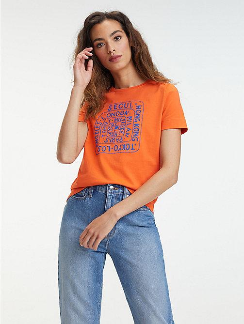 00a036097 TOMMY HILFIGEROrganic Cotton City Logo T-Shirt. €29.90. NEW