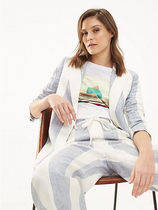 148c69846 TOMMY HILFIGEROrganic Cotton Beach Print T-Shirt. £50.00. NEW