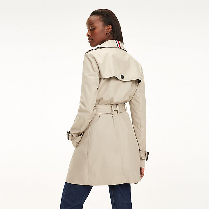 Essential Double Breasted Trench Coat  1de59831212