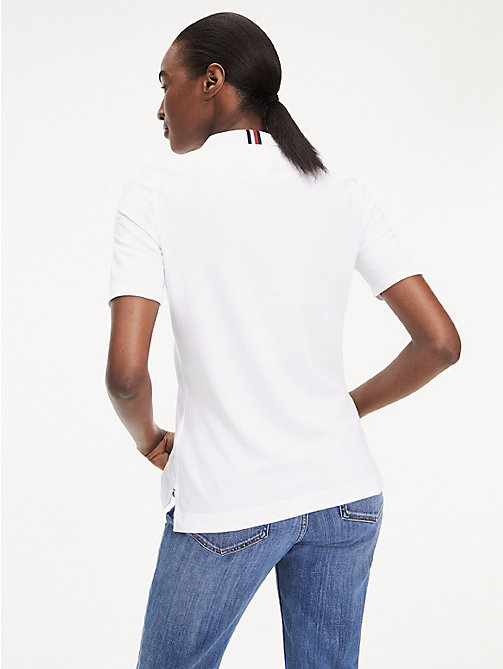 TOMMY HILFIGER Essential Polo - CLASSIC WHITE - TOMMY HILFIGER Polo Shirts - detail image 1