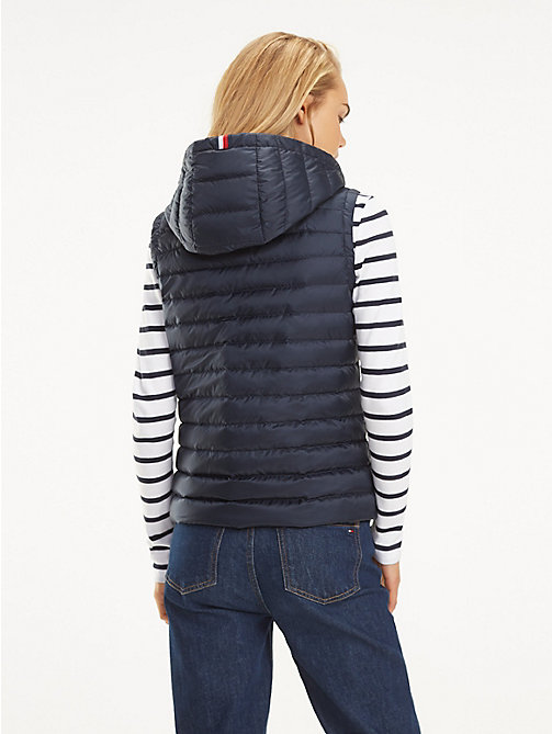 TOMMY HILFIGER Essential Packable Vest - MIDNIGHT - TOMMY HILFIGER Jackets - detail image 1