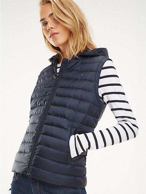 TOMMY HILFIGER Essential Packable Vest - MIDNIGHT - TOMMY HILFIGER Jackets - main image