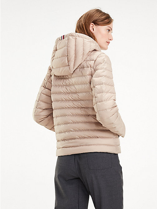 TOMMY HILFIGER Essential Packable Padded Jacket - MEDIUM TAUPE - TOMMY HILFIGER Jackets - detail image 1