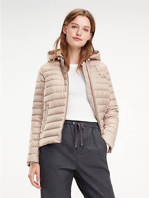 TOMMY HILFIGER Essential Packable Padded Jacket - MEDIUM TAUPE - TOMMY HILFIGER Jackets - main image