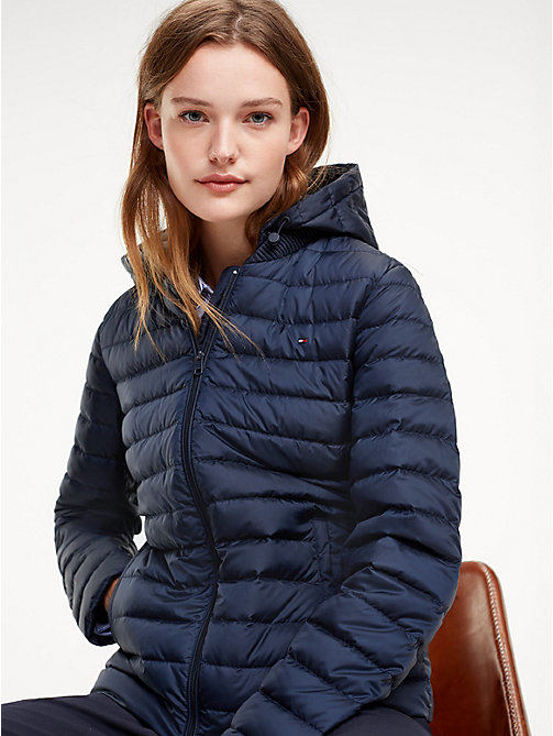 TOMMY HILFIGER Essential Packable Padded Jacket - MIDNIGHT - TOMMY HILFIGER NEW IN - main image