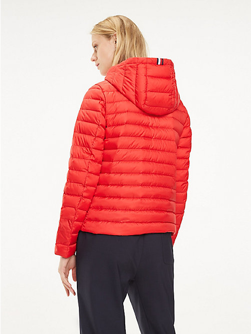 TOMMY HILFIGER Essential Packable Padded Jacket - TRUE RED - TOMMY HILFIGER Jackets - detail image 1