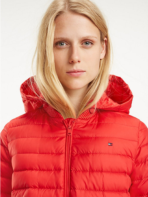 TOMMY HILFIGER Essential Packable Padded Jacket - TRUE RED - TOMMY HILFIGER Jackets - main image