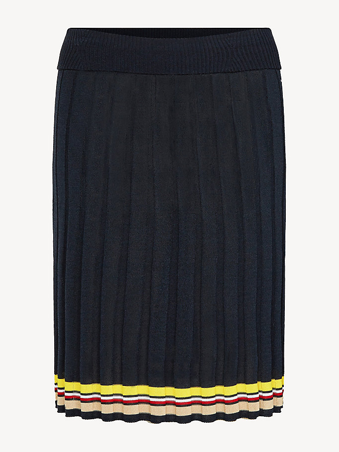 1ef83cd92 Falda con plisado y cintura elástica | SKY CAPTAIN | Tommy Hilfiger
