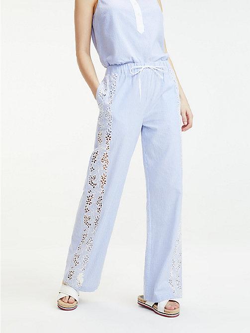 d91b94f187e9 TOMMY HILFIGERPantaloni stile pigiama a righe