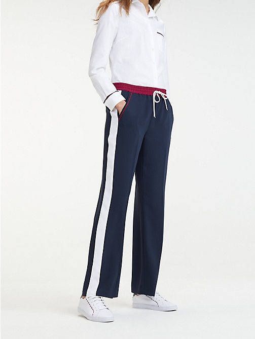 4d49116507 TOMMY HILFIGERContrast Panel Trousers