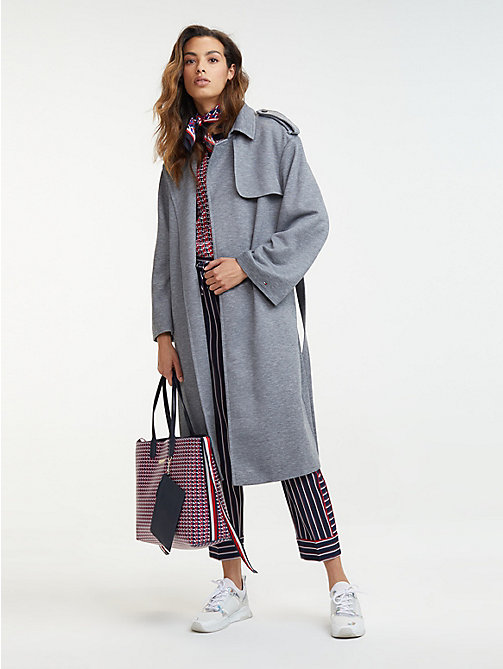 100% Zufriedenheit 100% Spitzenqualität gesamte Sammlung Damen-Trenchcoats & -Cabanjacken   Tommy Hilfiger® DE
