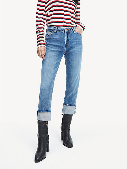 Women's Straight Leg Jeans | Straight Fit Jeans | Tommy