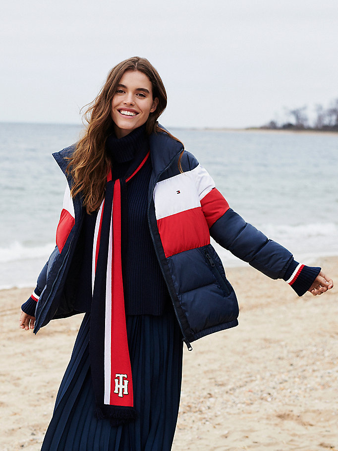 Tommy Hilfiger Recycled Polyester Padded Puffer Jacket
