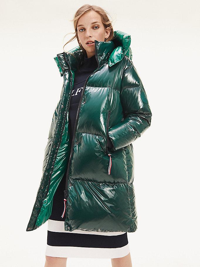 Manteau doudoune vert