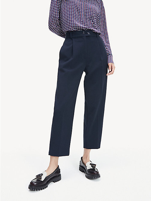5f661e6609 Women's Trousers   Ladies' Summer Trousers   Tommy Hilfiger® UK