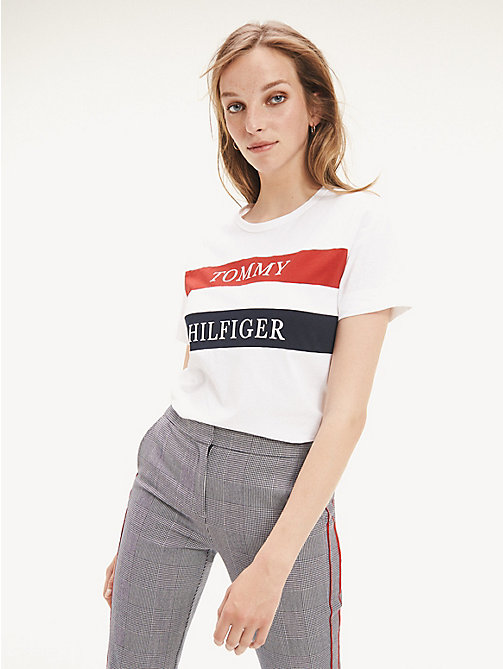 sports shoes e27a2 53b87 T Shirt Donna | Tommy Hilfiger® IT