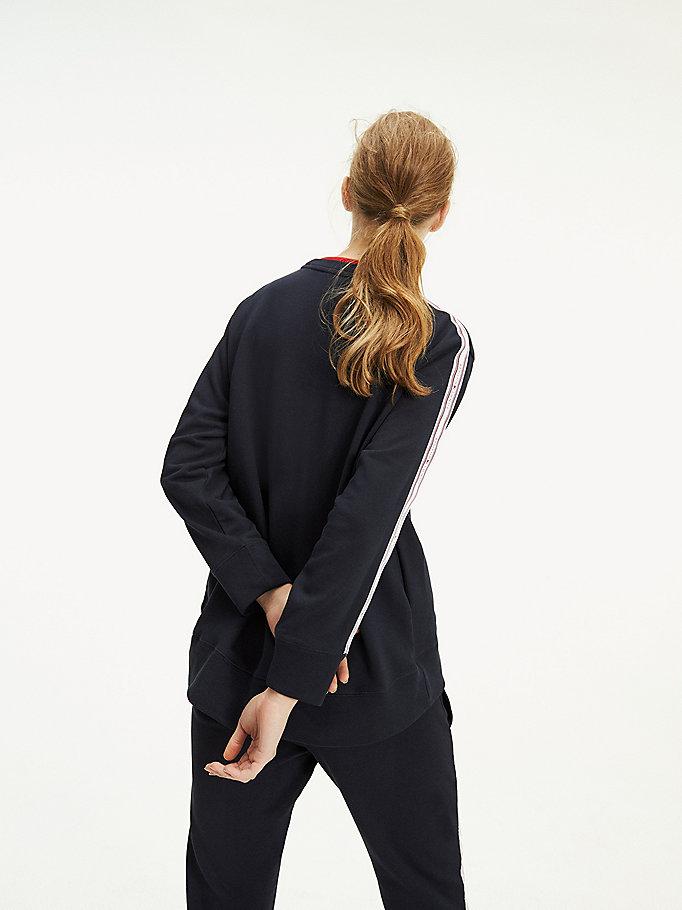 Lifestyle Logo Tape Sleeve Sweatshirt