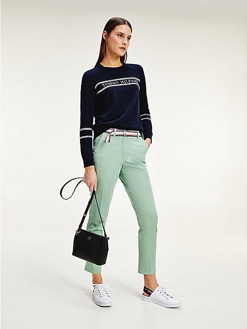 Damesbroeken | Leren & geruite broeken | Tommy Hilfiger® NL