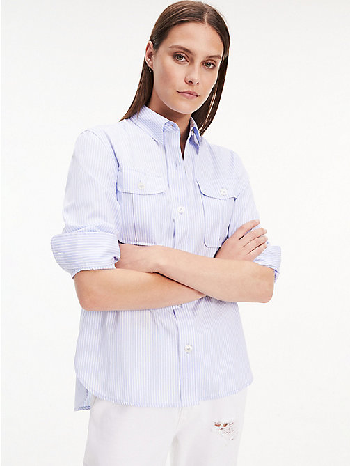 f4bde488a2dc55 Women's Shirts & Blouses | Tommy Hilfiger® UK