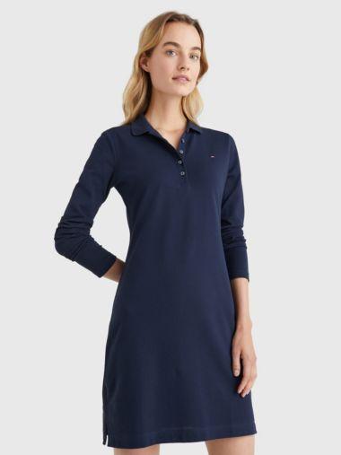 Slim Polo Dress