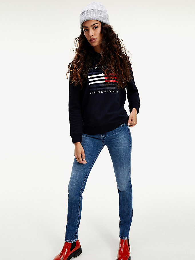denim venice mid rise slim jeans for women tommy hilfiger