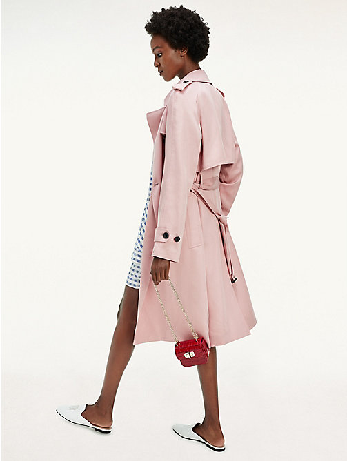 Tommy Hilfiger Single Breasted Trench Parka Donna
