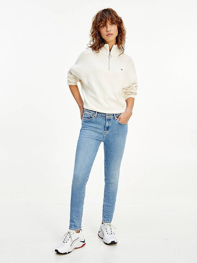 denim venice mid rise slim faded jeans for women tommy hilfiger