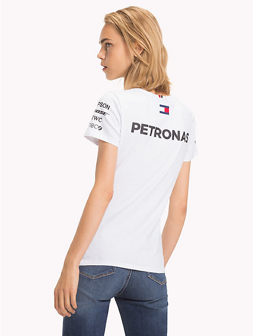TOMMY HILFIGER Mercedes F1 Driver T-Shirt - WHITE - TOMMY HILFIGER T-Shirts - detail image 1