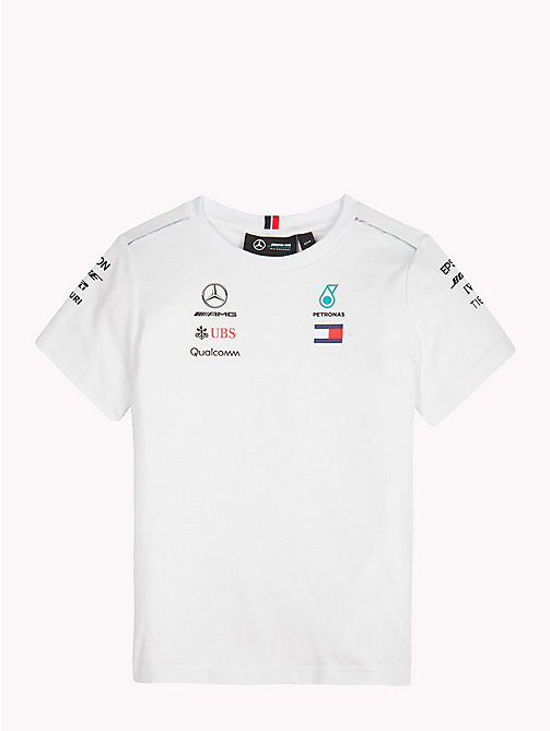 Mercedes F1 coureur T-shirt - WHITE -  T-shirts & Polo's - main image