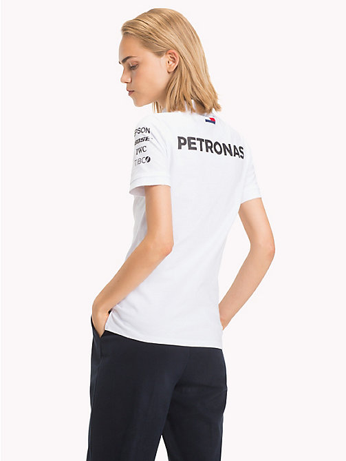 TOMMY HILFIGER Mercedes F1 Polo Shirt - WHITE - TOMMY HILFIGER Polo Shirts - detail image 1